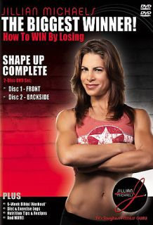 Jillian Michaels   Shape Up Complete DVD, 2005, 2 Disc Set