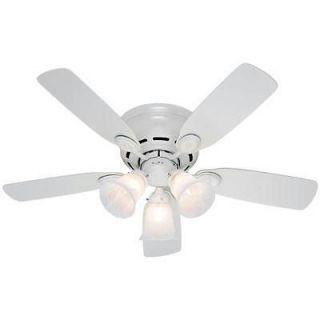 Hunter Fan Company 21880 H 42 Inch Low Profile Ceiling Fan