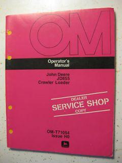 John Deere Operator Manual 850 Crawler Bulldozer ORIGINAL