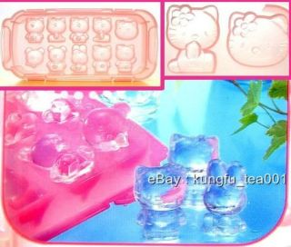 Sanrio Hello Kitty & Bear Rabbit 3D Ice Cube Jelly Chocolate Mold Tray