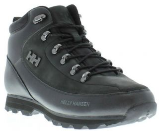 Helly Hansen Shoes Genuine The Forester Mens Black Boots Sizes UK 7