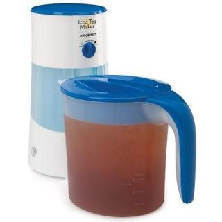 NEW MR. COFFEE TM70 3 QUART ICED TEA MAKER