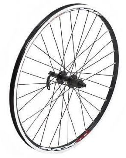 26 RALEIGH RGR860 MOUNTAIN BIKE REAR WHEEL DEORE 8 SPEED NEW BLACK