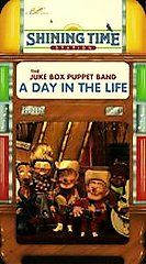 Shining Time Station   The Juke Box Puppet Band A Day in the Life VHS