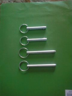 New Hitch Pins for Total Gym 1000, Wing Bar, Dip Bars, Press Up Bars