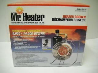 MR. HEATER HEATER COOKER 8,000 14,000 BTU/HR #MH12C NEW