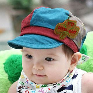 Cute Baby Toddler Infants Boys Girls Newsboy Mixed color Baseball Cap