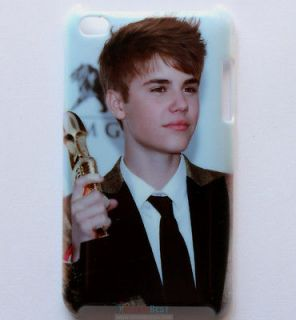 Newly listed New Justin Bieber Hard Back Cover Case for iPod Touch 4th