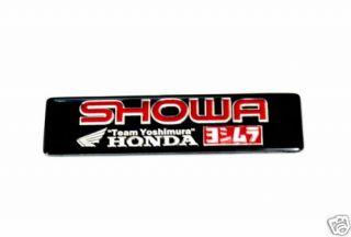 Honda Showa Exhaust Sticker Cbr1000 Cbr Crf Xr Monkey Dax Cb400 Innova