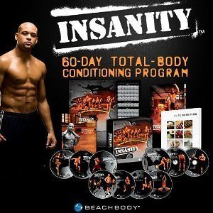 Insanity Workout 13 DVDs