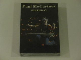 Paul McCartney Personalised Birthday / Greetings / Christmas Card P25