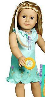 American Girl Doll Meet Kailey Sundress AMERICAN GIRL RETIRED 1Pcs