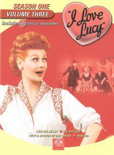 Love Lucy   Season 1 Vol. 3 DVD, 2002