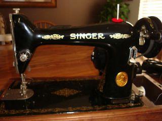 SINGER SEWING Machine Model# 66 16 INDUSTRIAL STRENGTH HEAVY DUTY