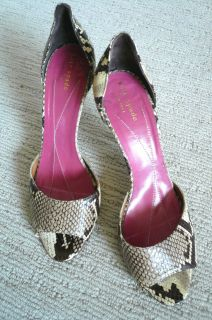 kate spade snakeskin pump shoe size 8 1 2 expedited