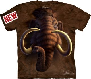 MOUNTAIN MAMMOTH HEAD MENS T SHIRTS OFFICIALLY LICENSED BY MOUNTAIN