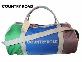 Authentic Country Road Tote Bag, Boys bag,Girls bag,,3 Block Tote