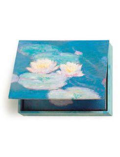 Museum of Art Monet Water Lilies 20 Note Cards in Keepsake Box