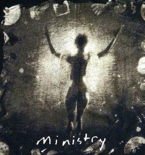 Vtg 1992 MINISTRY Shirt Industrial Rock Metal NIN LARD