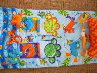 Infantino SHOP & PLAY SHOPPING CART COVER High Chair Baby Play Mat