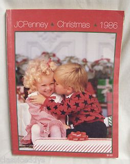 JCPENNEY CHRISTMAS 1986 CHRISTMAS CATALOG TRANSFORMERS,CANTURION