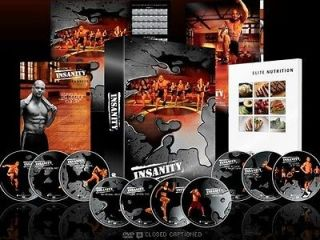 insanity workout in DVDs & Movies