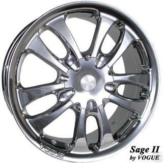 New Vogue SAGE II Chrome 17 inch WHEEL Rim Cadillac 2