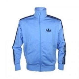 ADIDAS Originals blue Firebird Jacket/Tracksu​it Top size L 42 44
