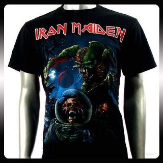iron maiden t shirts in Clothing,
