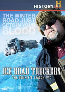 Ice Road Truckers   The Complete Season Two DVD, 2008, 4 Disc Set