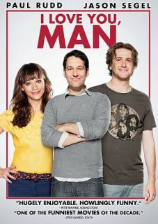 Love You, Man DVD, 2009, Sensormatic