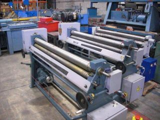 Sheet Metal Roll Slip Roll Small Power Roller