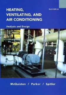 Heating, Ventilating and Air Conditioning by Faye C. McQuiston, Jerald
