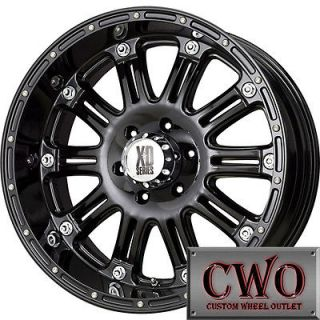 Newly listed 20 Black XD Series Hoss Wheels Rims 6x139.7 6 Lug Chevy