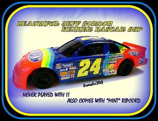 BEAUTIFUL RARE NEVER PLAYED WITH JEFF GORDON NASCAR KENNER SSP