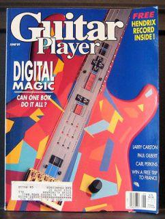 Guitar Player magazine, June 1989, Digital Magic, Larry Carlton, Paul