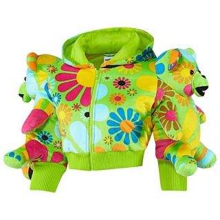 AUTH Adidas Originals Jeremy Scott Women Bear Hooded Jacket
