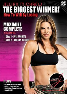 Jillian Michaels   Maximize Complete DVD, 2005, 2 Disc Set