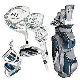 new affinity ht ladies golf club combo set with bag