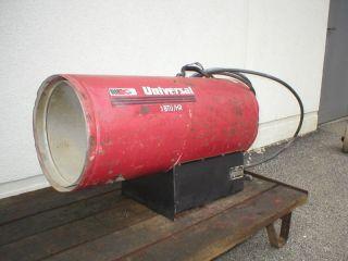 Universal LP 350,000 btu propane heater
