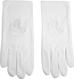 Daughters of Isis Emblem Embroidered Ladies Ritual Gloves
