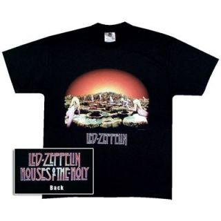 Led Zeppelin Houses of The Holy Album Cover T Shirt