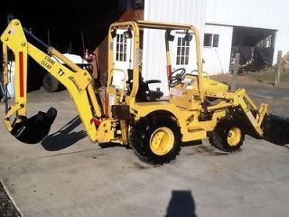 2000 Terramite TC 7 Tractor Loader/Backhoe   2 Buckets   DIESEL   NO