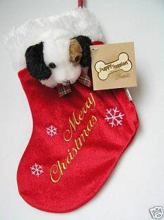 Mini Dog Christmas Stocking Jack Russell Terrier Dog