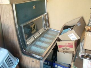 1968 seeburg ls1 jukebox complete  500 00