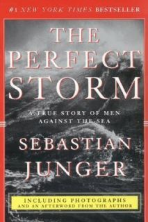 of Men Against the Sea by Sebastian Junger 1999, Paperback