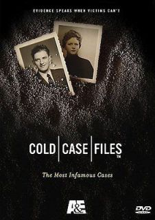 COLD CASE FILES   THE MOST INFAMOUS CASES   NEW DVD BOXSET