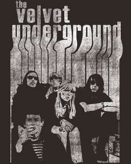 VELVET UNDERGROUND BAND WITH NICO ADULT TEE SHIRT S XL