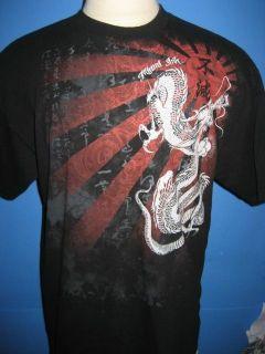 miami ink dragon t shirt xl mint