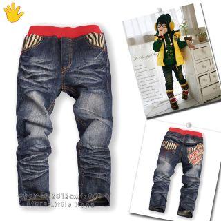 boys elastic waist jeans in Clothing,